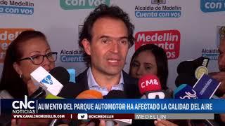 AUMENTO DEL PARQUE AUTOMOTOR HA AFECTADO LA CALIDAD DEL AIRE