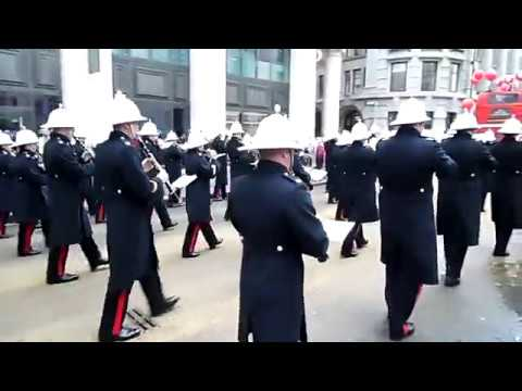 Band of HM Royal Marines Collingwood, Lord Mayor's Show 2017