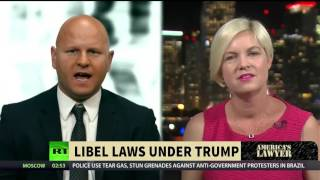 Can Trump Legally Change Libel Laws?
