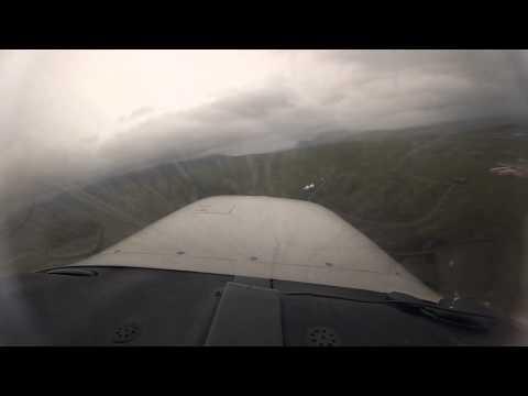 Johannes Burges | 360° westwärts | Anflug mit der Mooney auf Adak (Alaska)
