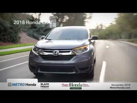2018 Honda CR-V - Metro Honda (Black Friday Offers)