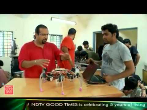 Robotics Club, IIT Kanpur @ NDTV