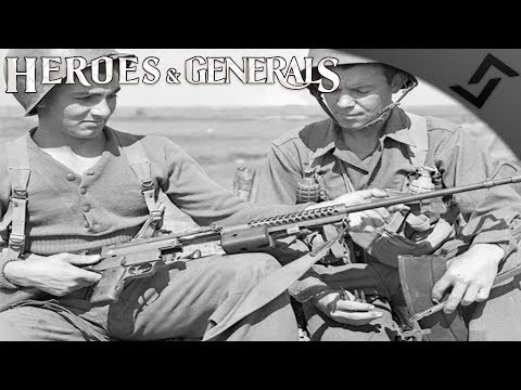 Johnson LMG Best Game Ever - Heroes and Generals - US Infantry Gameplay