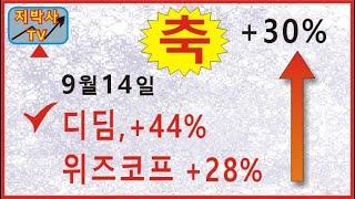 디딤 +44%, 위즈코프 +22%, 해성옵틱스 챠트공부 - 지박사의 급등주 추천(망고스톡 서비스 소개)
