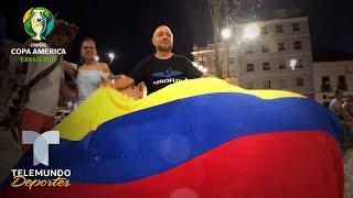 Pelourinho, la loca segunda casa de Colombia que sueña en Copa América | Telemundo Deportes