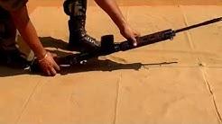 7.62 mm SLR kholna jodna | NCC National Cadet Corps | Self Loading Rifle | weapon training cert exam