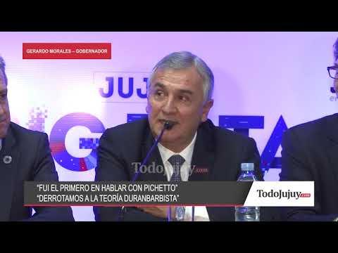 Gerardo Morales y la fórmula presidencial