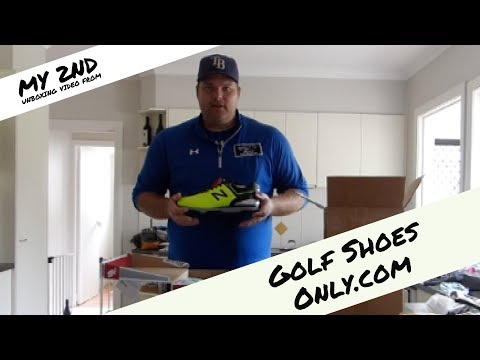 My Unboxing Video from GOLF SHOES ONLY.com - New Balance Golf Shoes!