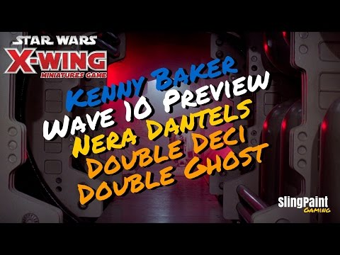 Kenny Baker|Wave 10 Preview|Nera Dentels|X-Wing Miniatures - SPG