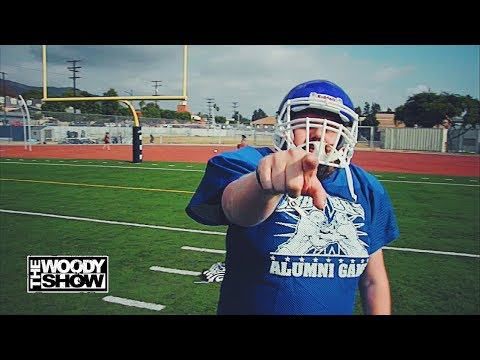 The Woody Show - Menace's NFL Kicker Tryout!