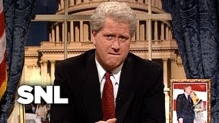 Bill Clinton Reads the Paula Jones Deposition to the Nation - SNL