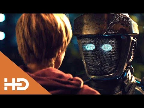 АТОМ и МАКС Гуляют по Ночному Городу ► «Живая сталь» (2011)