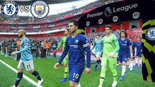 Chelsea vs Manchester City 2-0 | EPL 8 December 2018 Gameplay