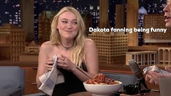 Dakota Fanning being cute for 5 minutes straight