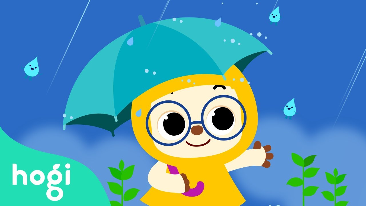 Why does Water Fall from Sky?   Water Drop Sonata   Nature Song   Learn and Play Science with Hogi