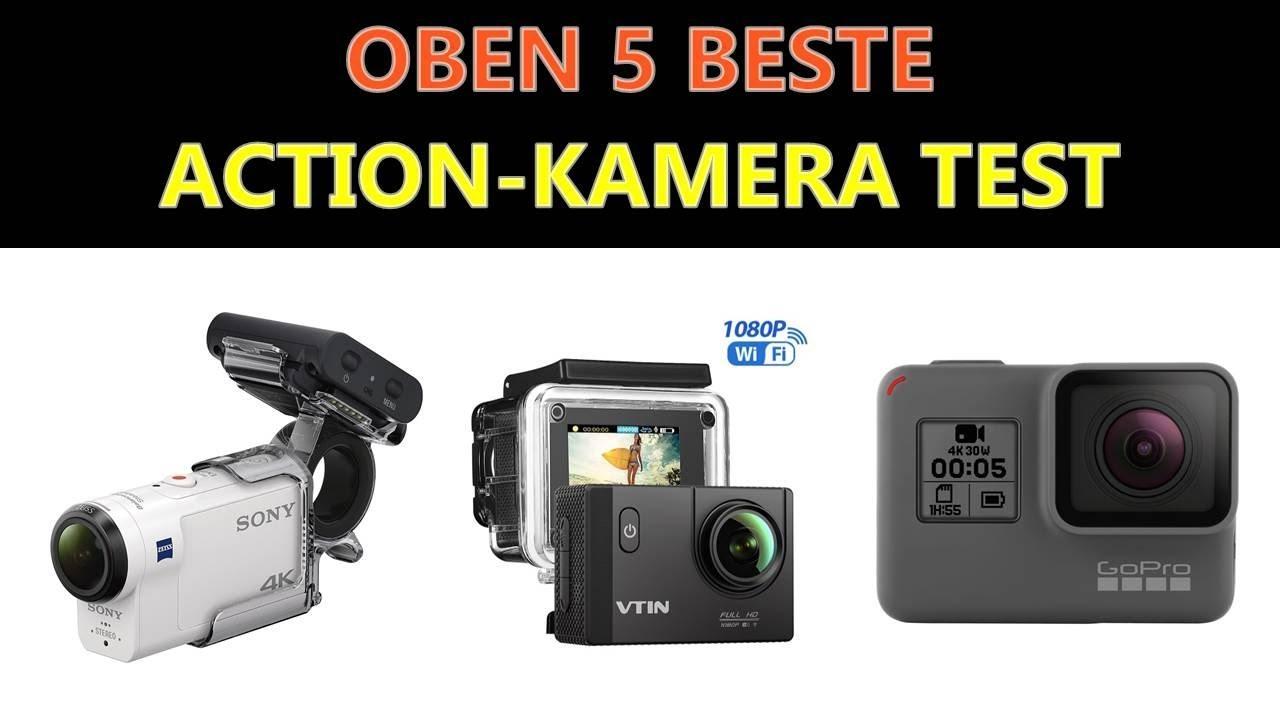 Beste Action Kamera Test 2020 - YouTube