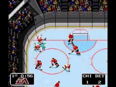 NHL 94 - Red Wings vs Blackhawks