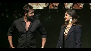 Ajay Devgn BLASTS reporter on being asked about his chemistry with Ileana D'Cruz