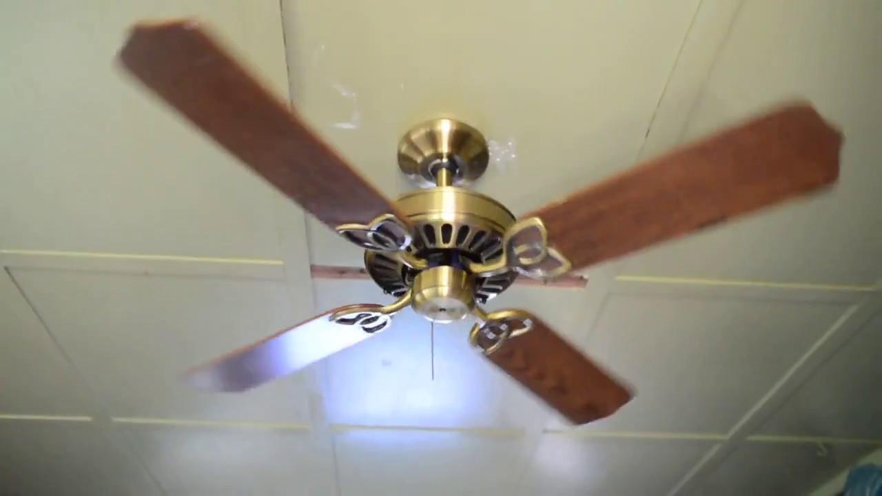 Broan alaska 42 ceiling fan c 1986 youtube broan alaska 42 ceiling fan c 1986 aloadofball Image collections