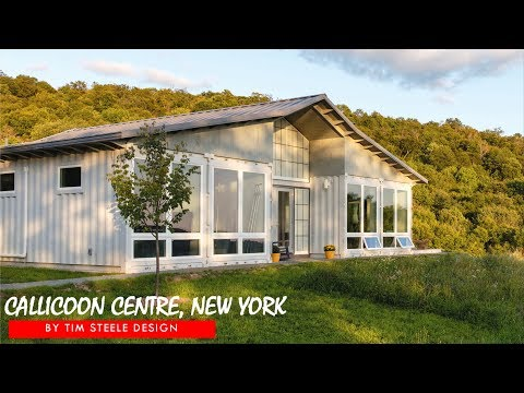 Callicoon Center: Tim Steele Design Container House in NY