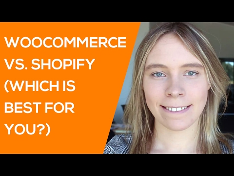 Shopify vs Woocommerce in 2017 (Which One is Better for you?)