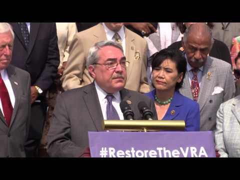 House and Senate Democrats Call to Restore Voting Rights Act