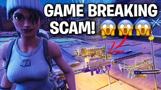 You won't believe this Game Breaking Scam! 😂 (Scammer Get Scammed) Fortnite Save The World
