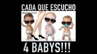 maluma 4 babys cada que escucho cuatro babys edicion bebes bailando by dj ecko