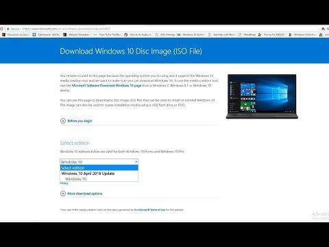 windows 1809 media creation tool