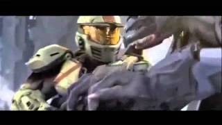 Halo Wars Cutscene-Monsters-Nickelback When We Stand Together
