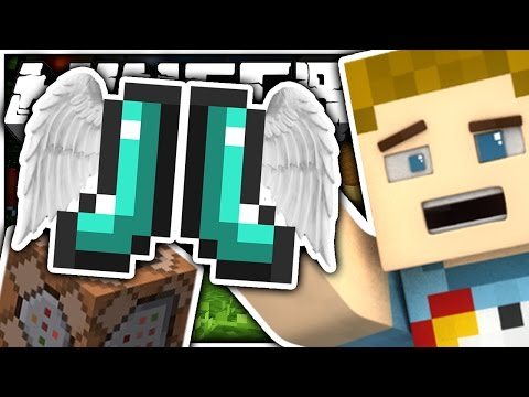 Minecraft | THE ELYTRA BOOTS?! - One Command Block Item