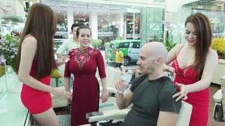 💆 Vietnam Barbershop Head Shave and Full Body Massage in Ho Chi Minh City
