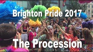 Brighton Pride 2017 - The Procession