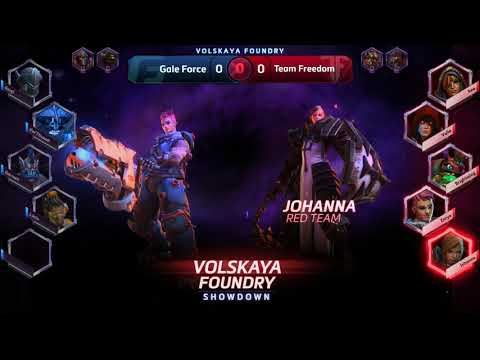 Volskaya Foundry Showdown - Gale Force Esports vs Team Freedom