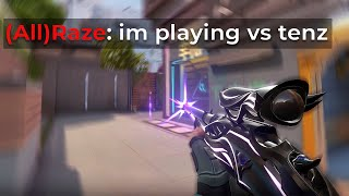 They thought I was TenZ...