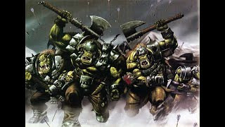 Warhammer Fantasy - Orcs and Ironhide - Claymorean - Ironhide