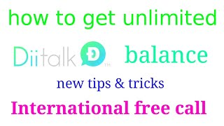 #newfreecall #aalltips New tips 2018 unlimited free call without SIM no balance lifetime free call