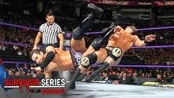 6-Man Tag Team Match: Survivor Series 2016 Kickoff Match on WWE Network