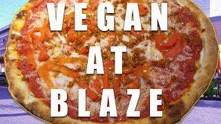 Vegan at BLAZE Pizza