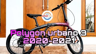 Polygon urbano 3 2020 2021#unboxing urbano 3 terbaru