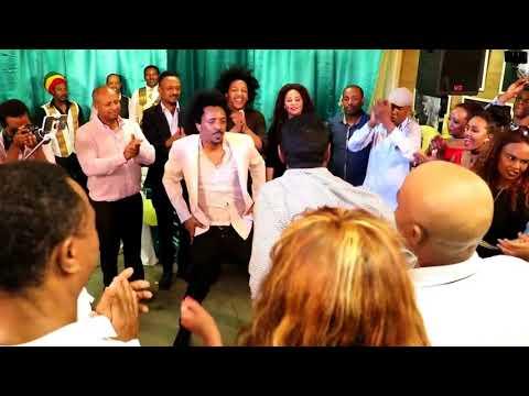Ethiopian Dance GROUP  DAN KIRA SEBLY & AFE ENGAGEMENT DAY