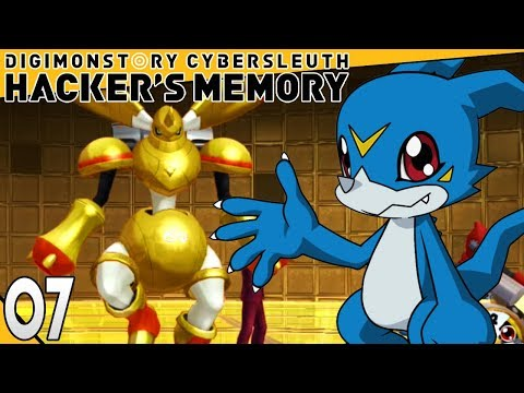 Digimon Story Cyber Sleuth Hackers Memory Part 7 GOLD RAPIDMON! PS4 Gameplay Walkthrough
