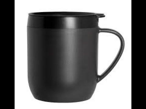 Zyliss coffee mug. Perfect coffee every time.  Here's how