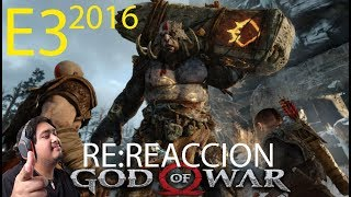 Vídeo RE:Reacción A: God of War | E3 2016 Reacción en vivo | Por el GOTY 2018