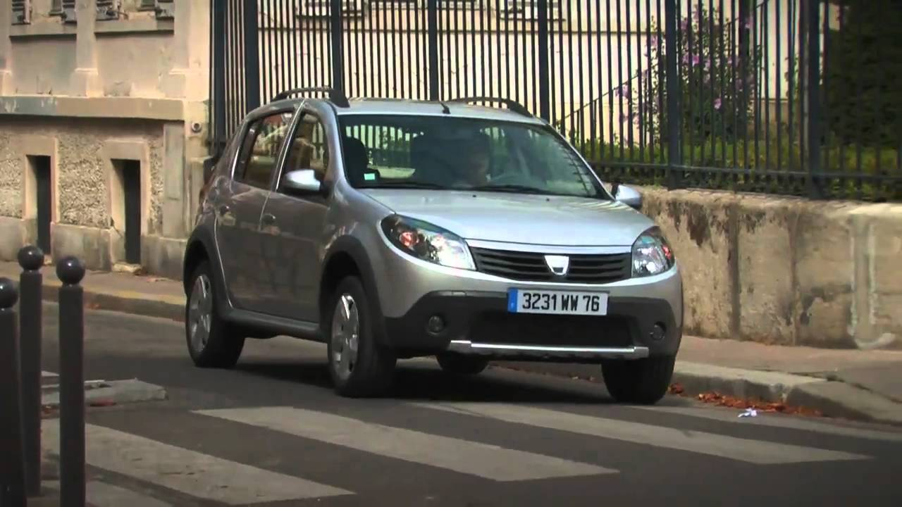 essai auto dacia sandero stepway youtube. Black Bedroom Furniture Sets. Home Design Ideas