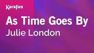 Karaoke As Time Goes By - Julie London *