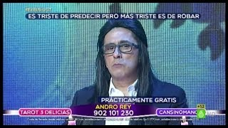 """En el aire - Andro Rey: """"Eres Libra, ¿sí?"""""""