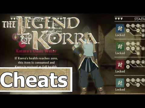 "The Legend of Korra Ps4 | ""Cheat Codes!"""