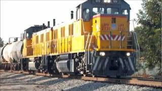 RARE! Union Pacific Patata Local running Late - 10/12/11