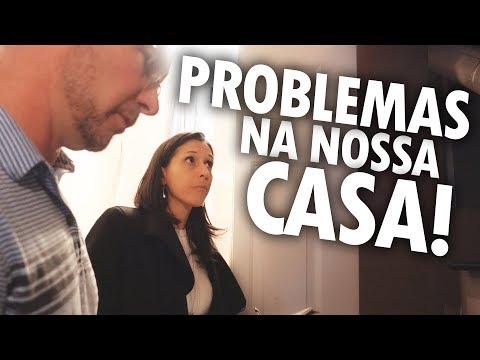 TOUR PROCURANDO DEFEITOS EM NOSSA CASA NOVA! - Vlog Ep.85